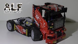 Lego Technic 42041 Race Truck - Lego Speed Build Review