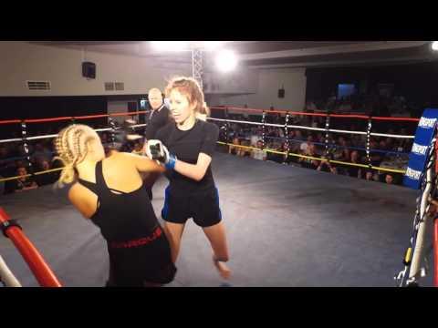 ETERNAL MMA 13  JESS NAPIER VS JAZZ KLUMPP  WMMA FIGHT