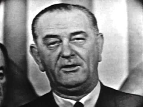 "President Johnson  "" American Promise""  Voting Rights Speech"