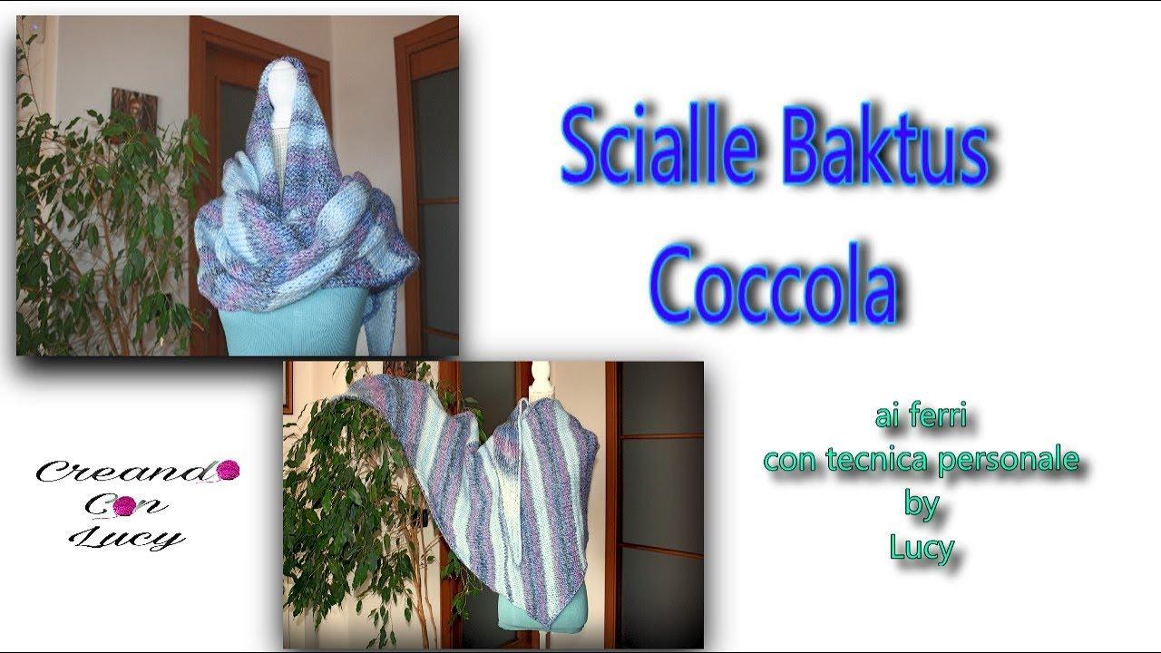 Liquidazione del 60% vendita di liquidazione 100% genuino Scialle Baktus Coccola ai ferri
