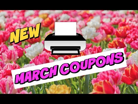 HOT MARCH COUPONS!!!  ~ New Coupons & Re-sets Too!