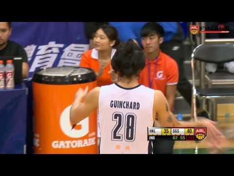Hong Kong Eastern Long Lions vs. Singapore Slingers | Game Highlights | April 15, 2017