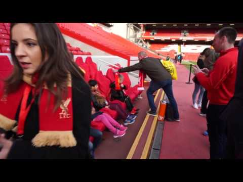 Anfield Match Day Tour (Part 1)