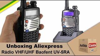 Unboxing Aliexpress - HT Baofeng UV 5RA(Link: ..., 2014-12-26T18:59:44.000Z)