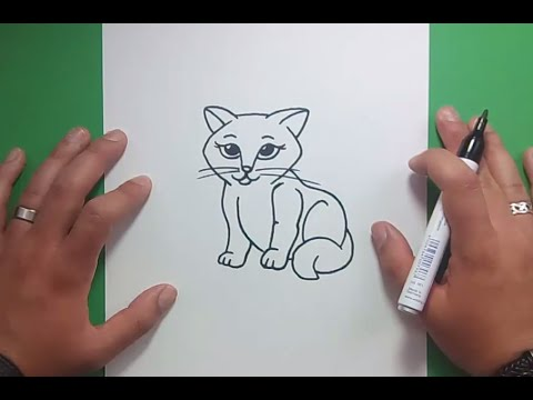 Como dibujar un gato paso a paso 23 | How to draw a cat 23 - YouTube