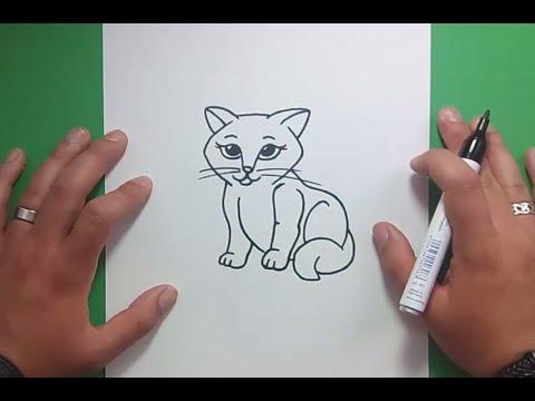 Como Dibujar Un Gato Realista Dibujando Un Gatito A Lpiz Mira El