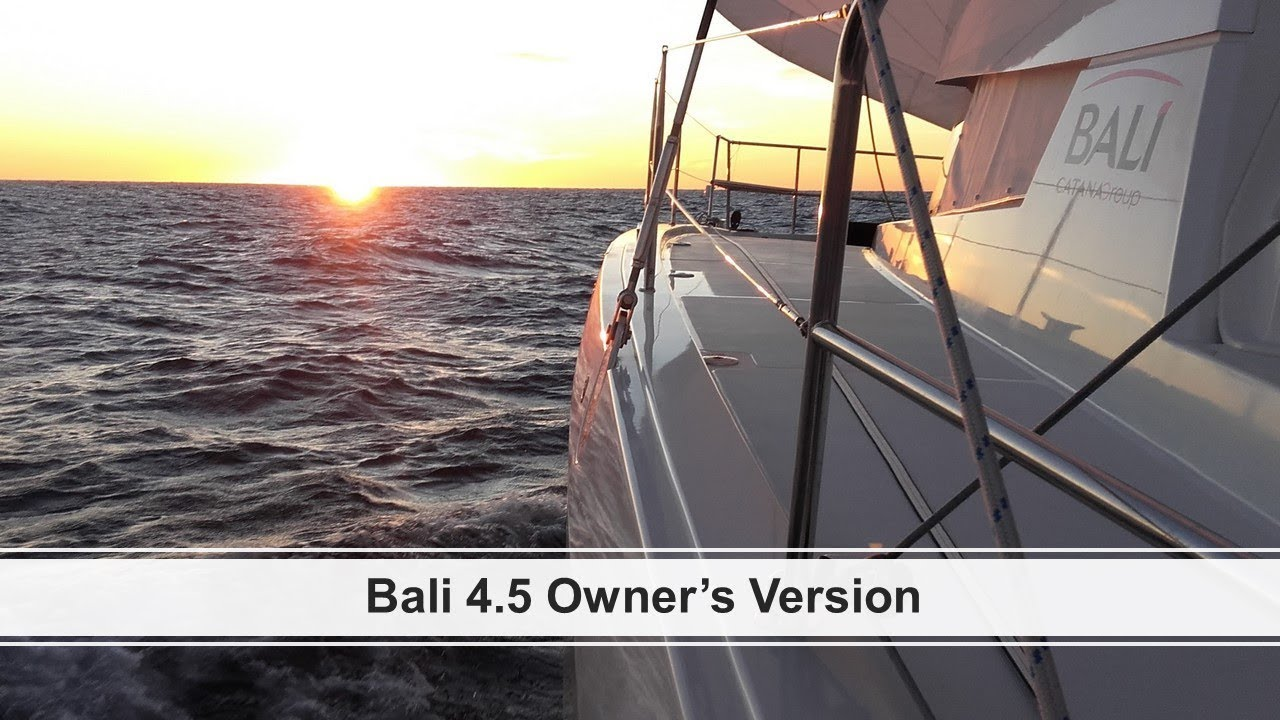 For Sale - Bali 4.5 owner's Version
