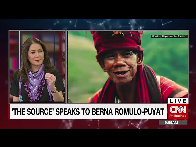 'The Source' speaks to Tourism Secretary Berna Romulo-Puyat
