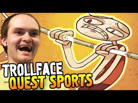 TrollFace Quest Sports Прохождение ► КАЧАЙСЯ, ДРИЩ! ◄ ВЗРЫВ МОЗГА