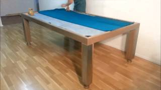 Billiard Dining Table Pronto Vision With 3 Parts Slate Addition To Assembling Instruction 2014 07