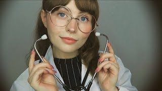 [ASMR] Detailed Medical Exam w/ Dr Michelle - Personal attention (3Dio)