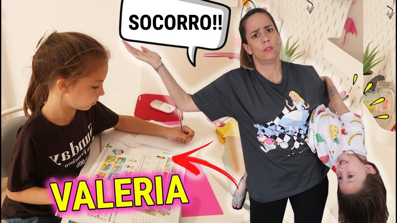 RUTINA DE TARDE DESPUÉS DEL COLEGIO DE VALERIA! ESPÍO A MARTINA NO AGUANTO MÁS 😭 Familia Amiguay