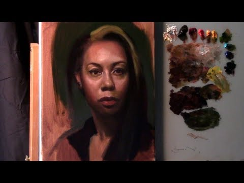 Portrait Painting Tutorial | Classical Methods  (Glazing & U