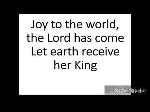 Joy to the world (Mariah Carey) male karaoke