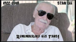 """""""Stan Lee"""" short interview,  one of his last ..."""