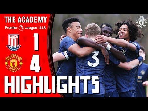 U18 Highlights | Stoke 1-4 Manchester United | The Academy | U18 Premier League