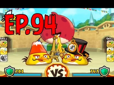 Angry Birds Fight! - ARENA CHUCK MASTER CUP - GOLDEN LIGHTNING HELMET (SS CHUCK) - EP94