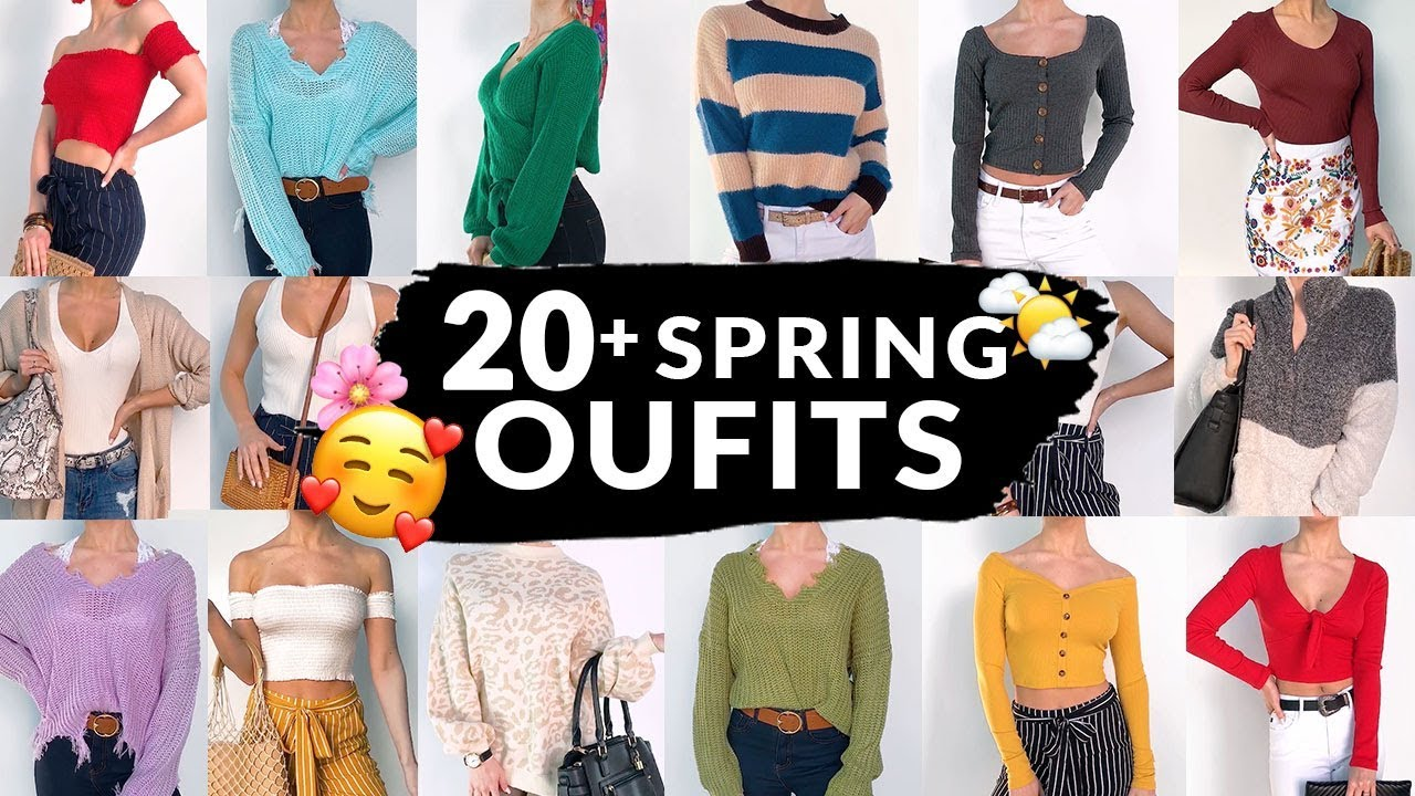 20+ SPRING OUTFIT IDEAS | EVERYDAY CASUAL STYLE 6