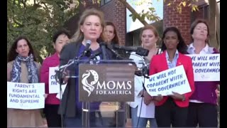 LIVE: 'Moms for America' Protest NSBA and DOJ's Threats Against Parents