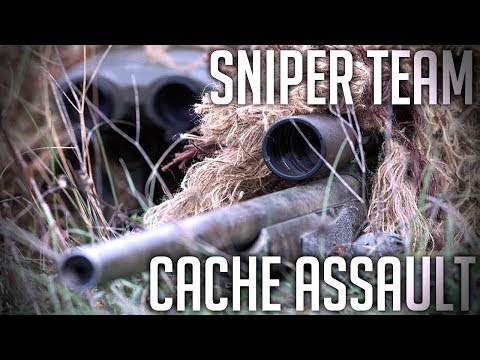 BF2 Project Reality: SNIPER TEAM Cache Assault (EPIC!)