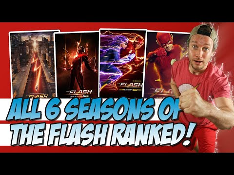 All 6 Seasons Of The Flash Ranked!