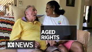 Sedating aged care residents has become 'normalised', human rights group says | ABC News