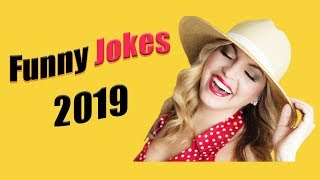 TRY NOT TO LAUGH CHALLENGE!!😁 - FUNNY JOKES 2019  (5-Minute Jokes)