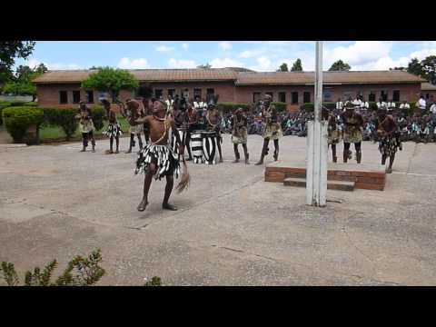 Dancing at Warren Park School, Harare, Zimbabwe