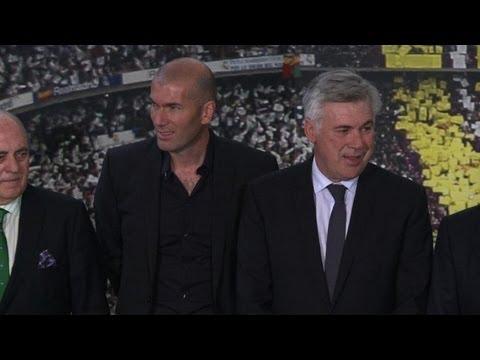 Ancelotti au Real Madrid, Zidane à ses côtés
