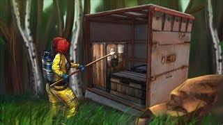 МВК тайник в лесу. Такого вы не видели в RustРаст