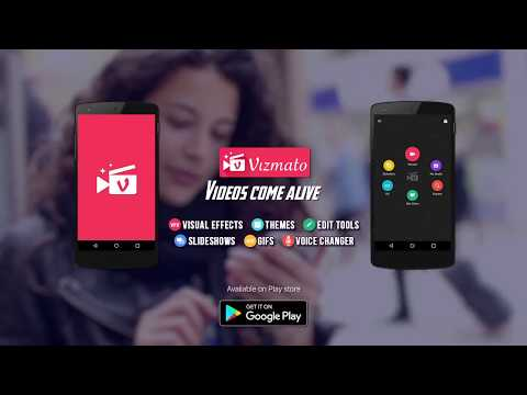 Create awesome videos, slideshows and GIFs with Vizmato!