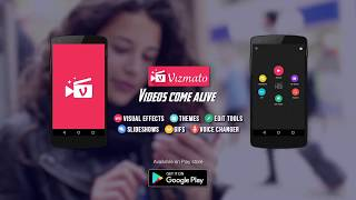 Create awesome videos, slideshows and GIFs with Vizmato! thumbnail