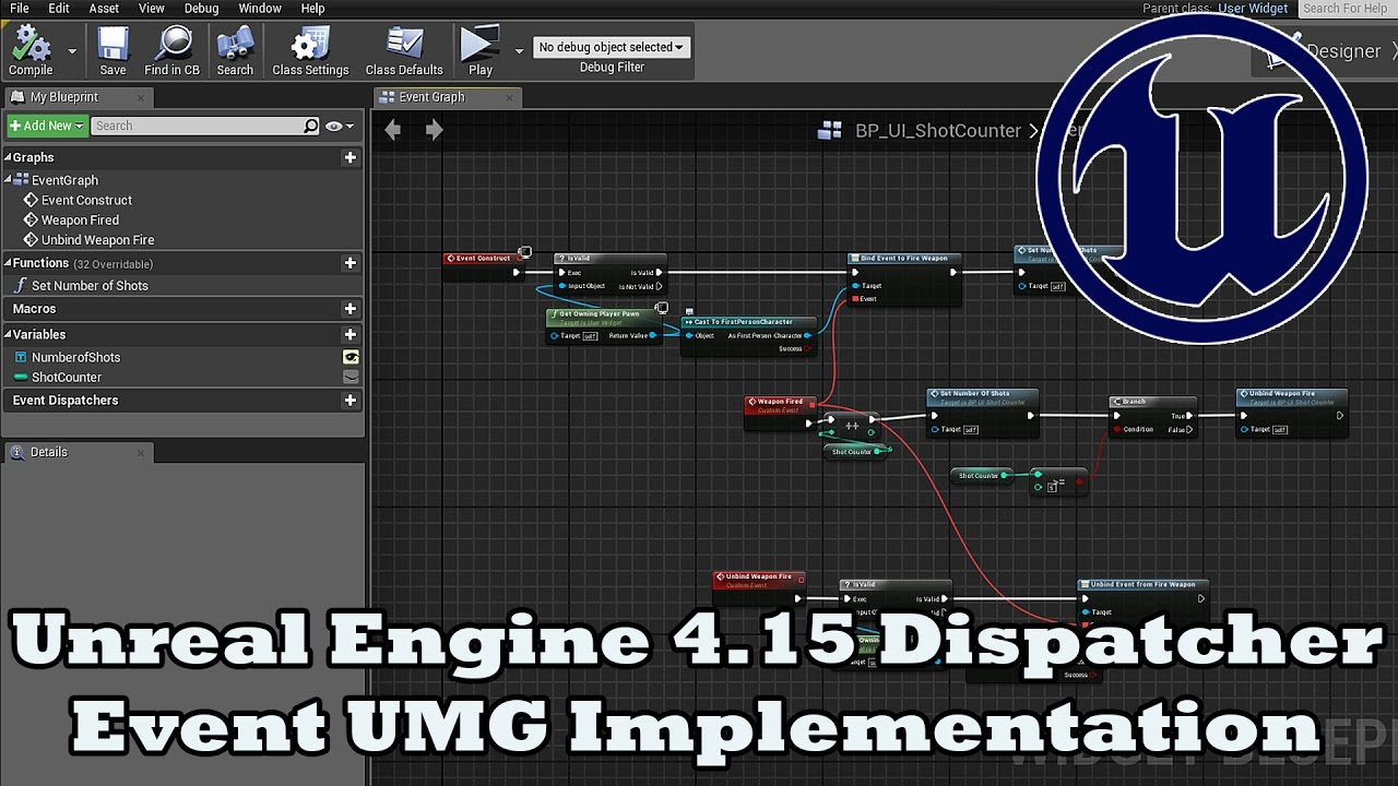Unreal engine 415 dispatcher events devinleveldesign youtube unreal engine 415 dispatcher events devinleveldesign malvernweather