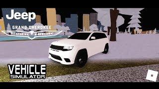 Nouveau! Jeep Grand Cherokee Trackhawk! (Simulateur de véhicule) - Roblox