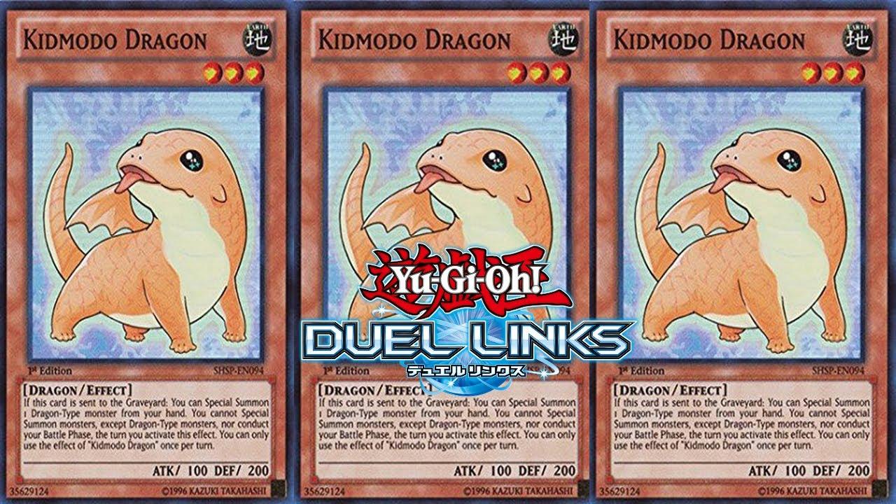 Yu-Gi-Oh Duel Links: Kidmodo Dragon Deck Profile