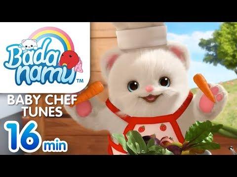 baby-chef-tunes-|-badanamu-compilation-l-nursery-rhymes-&-kids-songs
