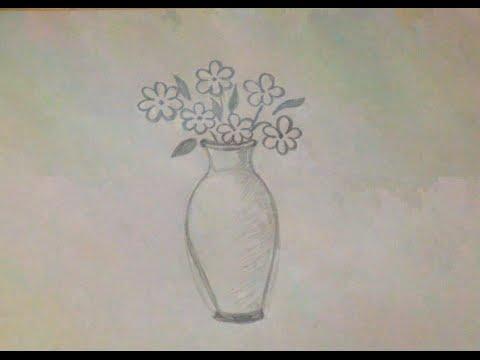 Как выглядит ваза с цветами