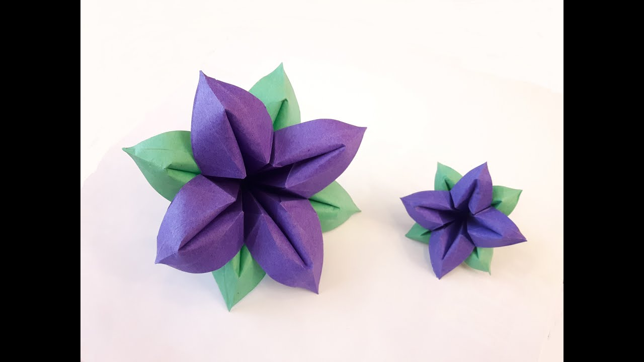 How To Make A Paper Flower New