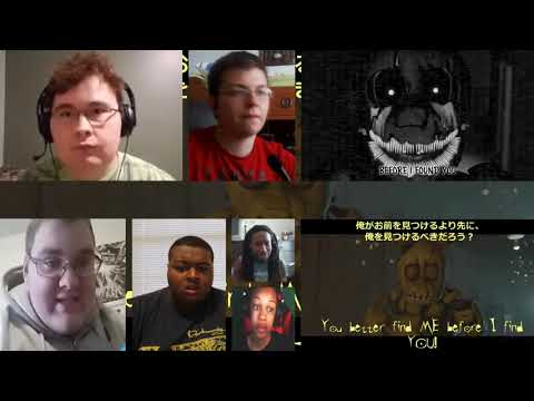 "Five Nights At Freddy's 3 Rap By JT Music - ""Another Five Nights""[COMBINED REACTION MASH-UP]#362"
