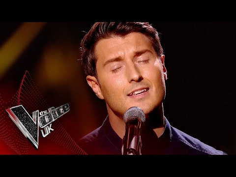 Gavin Ellis performs 'Tears In Heaven': Blind Auditions 7 | The Voice UK 2017