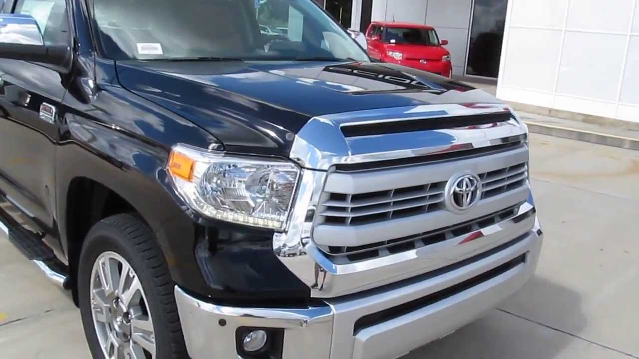 High Quality Courvelle Toyota New 2014 Toyota Tundra ~ 1794 Edition   YouTube