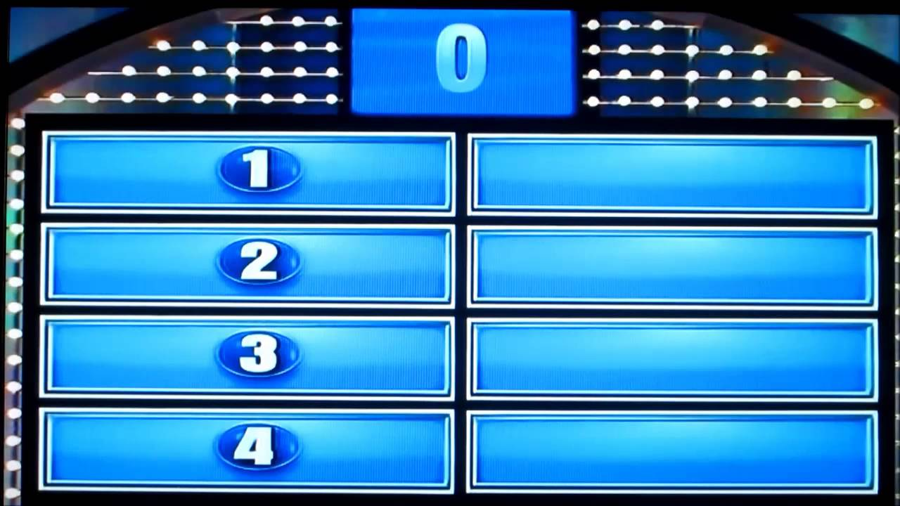 Family Feud Day 1 Part 2 Crowe Family - YouTube
