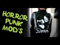 DIY Goth/Punk Modifications: Frankenstein Horror Movie Jacket