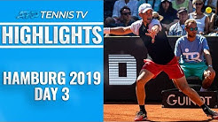 Thiem Marches On As Basilashvili, Rublev And Chardy Win | Hamburg 2019 Highlights Day 3