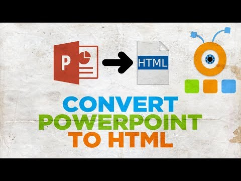 How To Convert PowerPoint Presentation To HTML 2019