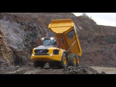 Volvo A60H dumper - förarens val - YouTube
