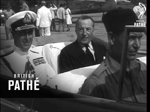 Sir Clark-Kerr And Mountbatten (1946)