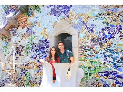 Inside Gaudi's Casa Battló, Barcelona - 4K Video Tour