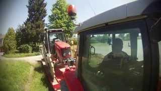 Massey Ferguson 5445 + sprayer FONTANA