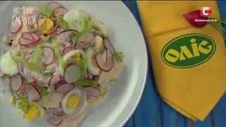 Салат с редисом и рисом. Рецепты от Игоря Мисевича